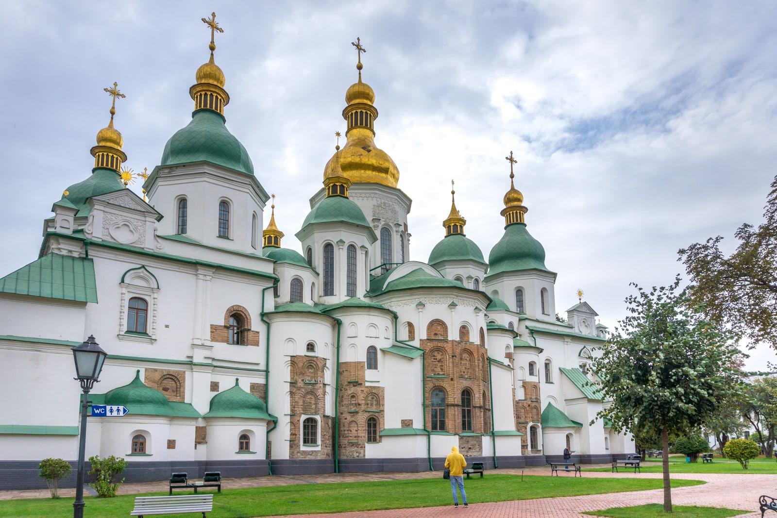 Catedral de Santa Sofía en Kiev, Ucrania