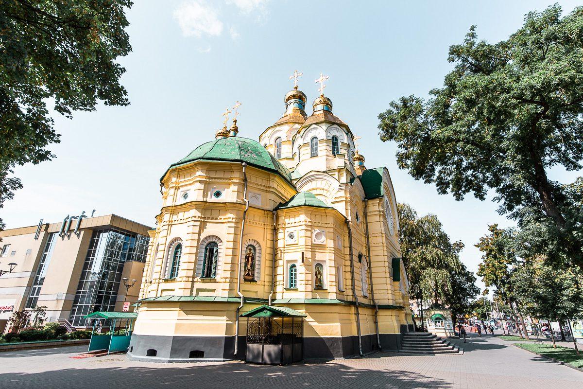 La Catedral de la Santa Resurrección en Rivne