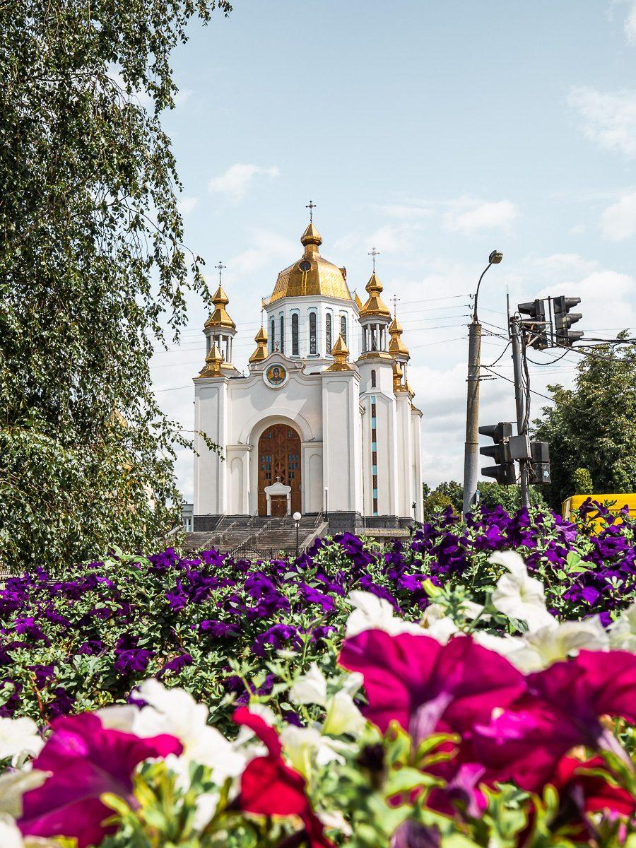 Catedral de San Basilio Rivne. Una necesidad absoluta en sus cosas que hacer en la lista de Rivne.