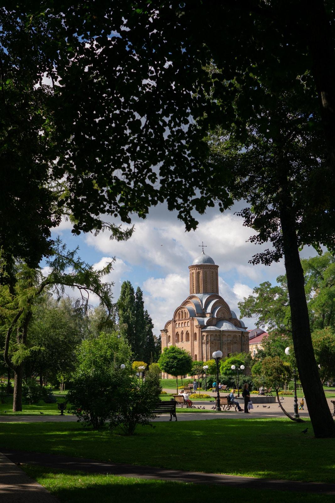 Iglesia Piatnytska en Chernihiv, Ucrania